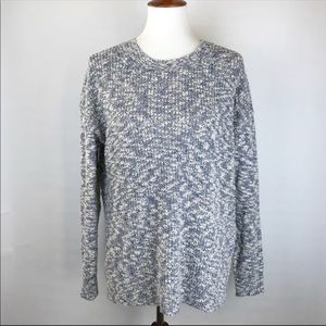 J.Crew marled oversized sweater